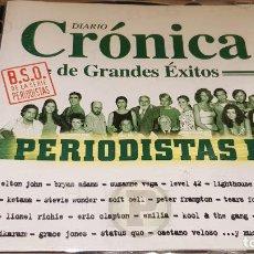 CDs de Música: PERIODISTAS II / CRÓNICA DE GRANDES ÉXITOS / DOBLE CD-UNIVERSAL-2001 / 37 TEMAS / LUJO.. Lote 143298498