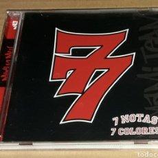 CDs de Música: CD - 7 NOTAS 7 COLORES - 77 - 7 NOTAS 7 COLORES. Lote 143311556