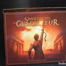 CDs de Música: SPARTACUS LE GLADIATEUR - BSO GLADIATOR - EDICION COLLECCIONISTA - 3CD. Lote 143324046