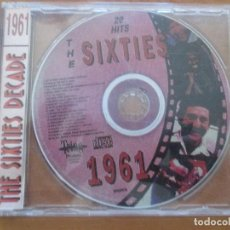 CDs de Música: THE SIXTIES DECADE 1961 BEN E. KING PLATTERS CHUBBY CHECKER SHIRELLES FATS DOMINO JAN & DEAN . Lote 143343046