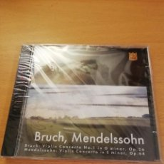 CDs de Música: BRUCH VIOLIN CONCERTO NO. 1 IN G. MINOR, OP. 26 / MENDELSSOHN VIOLIN CONCERTO IN E MINOR, OP. 64. Lote 143351006