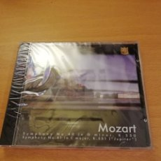 CDs de Música: MOZART (SYMPHONY NO. 40 IN G MINOR / SYMPHONY NO. 41 IN C MAJOR) CD PRECINTADO. Lote 143351146
