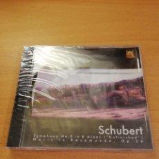 CDs de Música: SCHUBERT (SYMPHONY NO. 8 IN B MINOR / MUSIC TO ROSAMUNDE, OP. 26) CD PRECINTADO. Lote 143351162