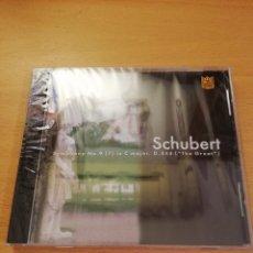 CDs de Música: SCHUBERT - SYMPHONY NO. 9 (7) IN C MAJOR, D. 444 (THE GREAT) - CD PRECINTADO. Lote 143351170