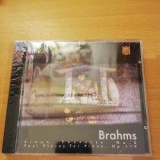 CDs de Música: BRAHMS (PIANO CONCERTO NO. 2 / FOUR PIECES FOR PIANO, OP. 119) CD PRECINTADO. Lote 143351246