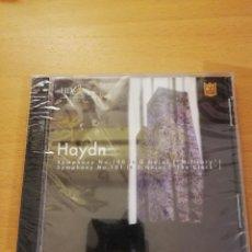 CDs de Música: HAYDN (SYMPHONY NO. 100 & 101) CD PRECINTADO. Lote 143351270