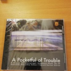 CDs de Música: A POCKETFUL OF TROUBLE (R. STRAUSS / STRAVINSKY) CD PRECINTADO. Lote 143351282