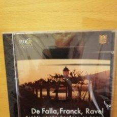 CDs de Música: DE FALLA, FRANCK, RAVEL (NIGHTS IN THE GARDENS OF SPAIN) CD PRECINTADO. Lote 143351298