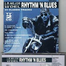 CDs de Música: CD - LO MEJOR DEL RHYTHM N BLUES - VARIOS (DOBLE CD, ARCADE 1994). Lote 143363838