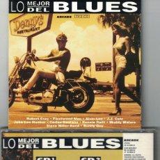 CDs de Música: CD - LO MEJOR DEL BLUES - VARIOS (DOBLE CD, ARCADE 1992). Lote 143365882