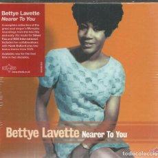 CDs de Música: BETTYE LAVETTE - NEARER TO YOU - CD CHARLY 2011 NUEVO. Lote 143385566