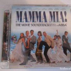CDs de Música: CD MAMMA MIA ABBA BANDA SONORA THE MOVIE SOUNDTRACK AÑO 2008. Lote 143389162