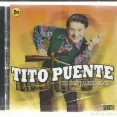 CDs de Música: TITO PUENTE - THE ESSENTIAL RECORDINGS - CD DOBLE PRIMO 2016 NUEVO. Lote 143392654