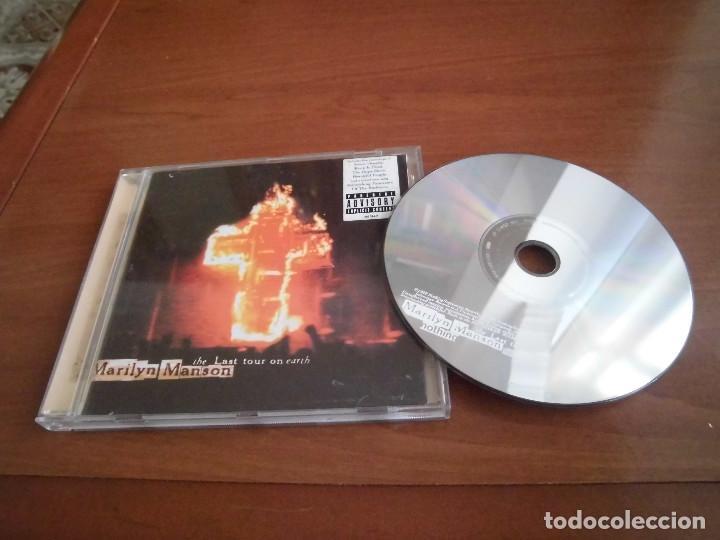 MARILYN MANSON- THE LAST TOUR ON THE EARTH (Música - CD's Heavy Metal)