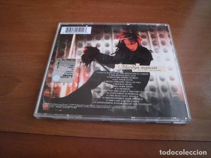CDs de Música: Marilyn Manson- The last tour on the earth - Foto 3 - 143406578