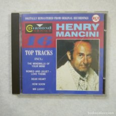 CDs de Música: HENRY MANCINI - 16 TOP TRACKS - CD . Lote 143408698