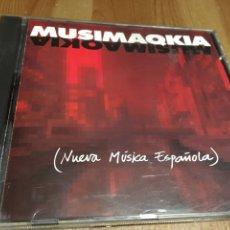 CDs de Música: MUSIMAQKIA / NUEVA MÚSICA ESPAÑOLA CD. Lote 143414612
