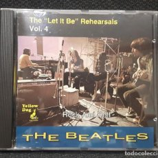 CDs de Música: BEATLES - THE LET IT BE REHEARSALS VOL.4 - CD - YELLOW DOG - RARO - PAUL MCCARTNEY - JOHN LENNON. Lote 143504122