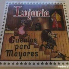 CDs de Música: LUJURIA CUENTOS PARA MAYORES LP-WARCRY-CALIBRE ZERO-OBUS-SPANISH HEAVY METAL. Lote 143507526