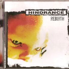 CDs de Música: HINDRANCE CD REBIRTH SPANISH HEAVY 2009-SARATOGA-ADN-MURO (COMPRA MINIMA 15 EUROS). Lote 143535266