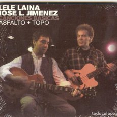 CDs de Música: ASFALTO+TOPO CD CANCIONES BASICAS,SPANISH 2004-LELE LAINA-ÑU-BARON ROJO(COMPRA MINIMA 15 EUROS). Lote 143546542