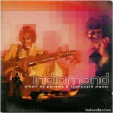 CDs de Música: ALBERT DE PANAME & RAGHUNATH MANET – INDIAMOND - CD FRANCE 2003 - WAGRAM MUSIC 3085055. Lote 143565362