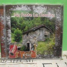 CDs de Música: BARDAL NA FONTE LA CANALINA CD ALBUM ASTURIAS NUEVO¡¡. Lote 143572342