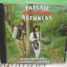 CDs de Música: CD ALBUM BELEN ARBOLEYA Y CONSUELO GONZALEZ - PAISAJE DE ASTURIAS NUEVO¡¡ PEPETO. Lote 260612160
