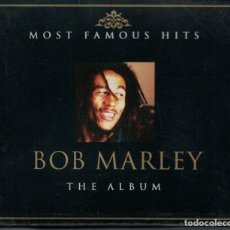 CDs de Música: CD - BOB MARLEY - THE ALBUM (CAJA CON 2 CD'S, MCPS 2004) (VER FOTO ADJUNTA). Lote 143582170