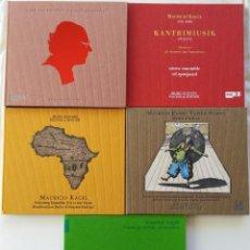 CDs de Música: LOTE DE 13 CDS DE MAURICIO KAGEL.. Lote 143598050