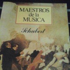 CDs de Música: COLECCIÓN MAESTROS DE LA MÚSICA N. 11 , SIN CD . Lote 143600678