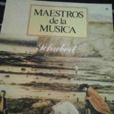 CDs de Música: COLECCIÓN MAESTROS DE LA MÚSICA N. 9 , SIN CD . Lote 143600858