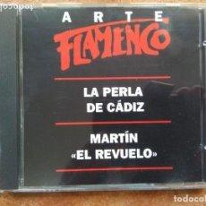 CDs de Música: ARTE FLAMENCO ORBIS. LA PERLA DE CADIZ. MARTIN EL REVUELO (CD). Lote 180321476