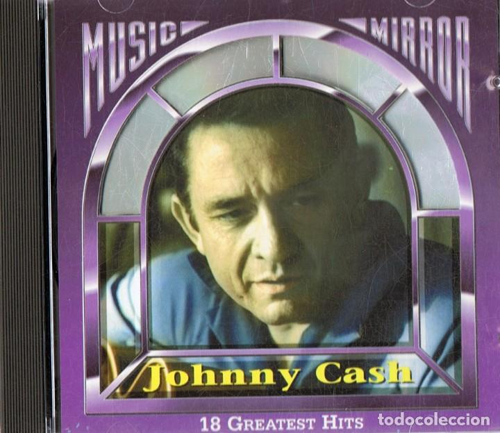 JOHNNY CASH 18 GREATEST HITS (CD) (Música - CD's Country y Folk)