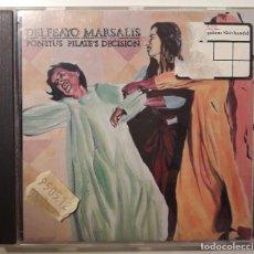 CDs de Música: CD DELEFAYO MARSALIS - PONTIUS PILATE'S DECISION . Lote 143604006