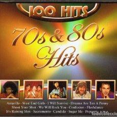 CDs de Música: 100 HITS 70´S & 80´S HITS ( 5 CD BOX). Lote 143611238