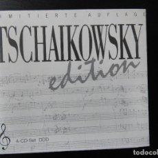 CDs de Música: TSCHAIKOWSKY EDITION 4 CD NUEVO . Lote 143616830
