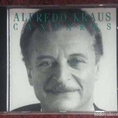 CDs de Música: ALFREDO KRAUS, EDELMIRO ARNALTES (CANTARES) CD 1990. Lote 143617622