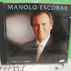CDs de Música: MANOLO ESCOBAR CD ALBUM 1994 TIEMPO AL TIEMPO NUEVO¡¡. Lote 143628246