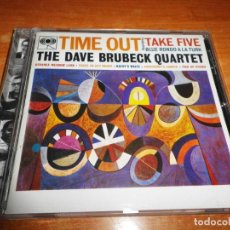 CDs de Música: THE DAVE BRUBECK QUARTET TIME OUT CD ALBUM DEL AÑO 1997 AUSTRIA CONTIENE 7 TEMAS JAZZ PAUL DESMOND. Lote 143629206