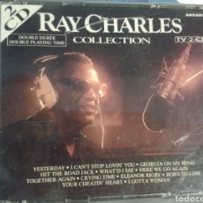 CDs de Música: RAY CHARLES COLLECTION 2 CD. Lote 143635994