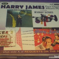 CDs de Música: HARRY JAMES - FOUR CLASSIC ALBUMS PLUS - 2XCD. Lote 143642122
