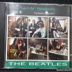 CDs de Música: BEATLES - THE LET IT BE REHEARSALS VOL.5 - CD - YELLOW DOG - RARO - PAUL MCCARTNEY - JOHN LENNON. Lote 143642518