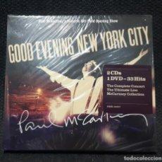 CDs de Música: PAUL MCCARTNEY - BEATLES - GOOD EVENING NEW YORK CITY - DOBLE CD Y DVD - DIGIPACK - PRECINTADO. Lote 143643054