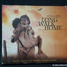 CDs de Música: PETER GABRIEL - GENESIS - LONG WALK HOME - CD - THE RABBIT PROOF FENCE - EEC - 2002. Lote 143643530