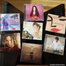 CDs de Música: LOTE CDS POP ESPAÑOL - BISBAL, ESTOPA, SHAKIRA, LOVG. Lote 143647978