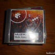 CDs de Música: MUTE : ASSUME NOTHING. VARIOUS : DEPECHE MODE, MOBY, GOLDFRAPP... MUZIK, 2001 (#). Lote 143678294