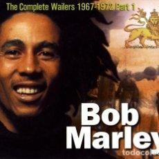 CDs de Música: THE COMPLETE BOB MARLEY & THE WAILERS 1967-1972 PART 1, 3 CD´S BOX CON TRES LIBRETOS. Lote 143682594