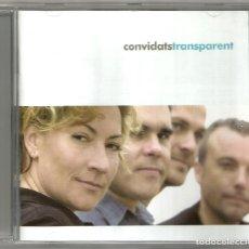 CDs de Música: ELS CONVIDATS - TRANSPARENT (CD) 2002 - CANÇÓ CATALANA. Lote 143720526