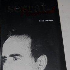 CDs de Música: SERRAT PERSONAL 2000 CANSIONES. Lote 143733842